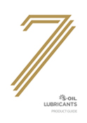 S-OIL Lubricants Product Guide (Sep 2017)
