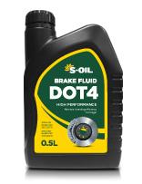 S-OIL Brake Fluid DOT 4