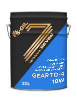 S-OIL 7 GEAR TO-4 10W
