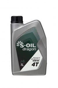 S-OIL dragon 4T SG 15W40