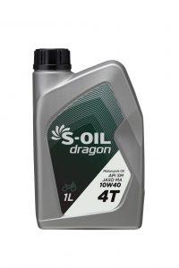 S-OIL dragon 4T SM/MA 10W40