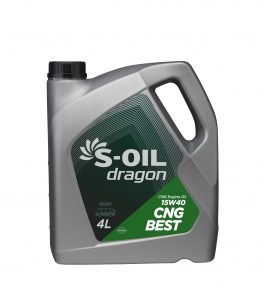 S-OIL dragon CNG BEST 15W40