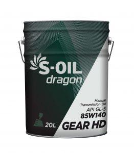S-OIL dragon Gear HD 80W90