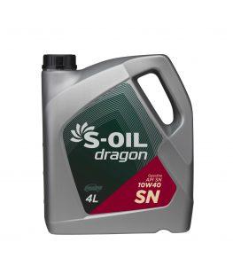 S-OIL dragon SN 10W40