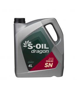 S-OIL dragon SN 15W40