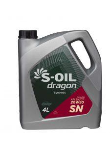 S-OIL dragon SN 20W50