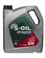 S-OIL dragon SN 0W30