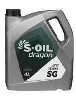 S-OIL dragon SG 15W40