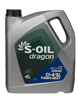 S-OIL dragon Turbo Best 15W40