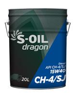 S-OIL dragon CH-4/SJ 15W40