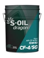 S-OIL dragon CF-4/SG 15W40