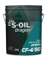 S-OIL dragon CF-4/SG 20W50