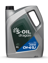 S-OIL dragon CH-4/SJ 20W40