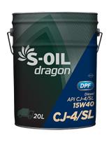 S-OIL dragon CJ-4/SL 15W40