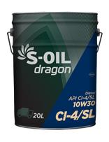 S-OIL dragon CI-4/SL 10W30