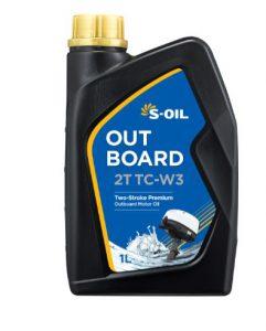 S-OIL OUTBOARD 2T TC-W3