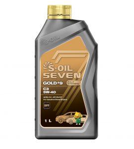 S-OIL 7 GOLD #9 C3 5W-40
