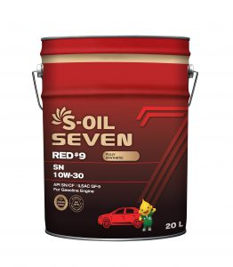 S-OIL 7 RED #9 SN 10W-30