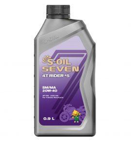 S-OIL 7 4T RIDER #5 SM/MA 20W-40