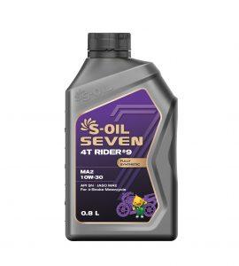 S-OIL 7 4T RIDER #9 MA2 10W-30