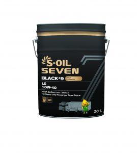 S-OIL 7 BLACK #9 LS 10W-40