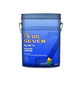 S-OIL 7 BLUE #5 CH-4/SJ 20W-50