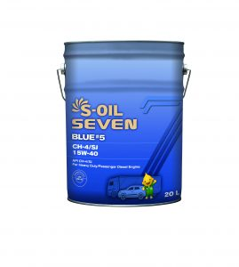 S-OIL 7 BLUE #5 CH-4/SJ 15W-40