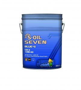 S-OIL 7 BLUE #5 CK-4 15W-40