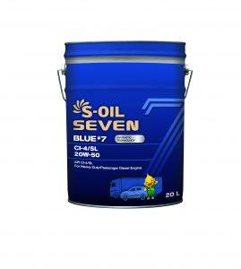 S-OIL 7 BLUE #7 CI-4/SL 20W-50