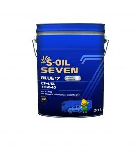 S-OIL 7 BLUE #7 CJ-4/SL 15W-40