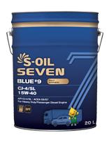 S-OIL 7 BLUE #9 CJ-4/SL 15W-40