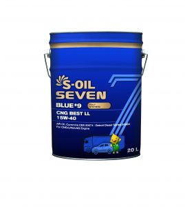 S-OIL 7 BLUE #9 CNG BEST LL 15W-40