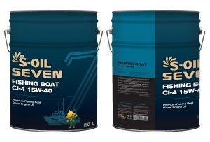 S-OIL 7 FISHING BOAT CI-4 15W-40