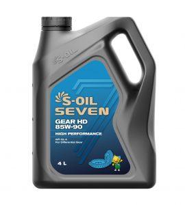 S-OIL 7 GEAR HD 85W-90