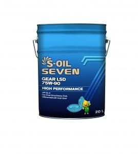 S-OIL 7 GEAR LSD 75W-90