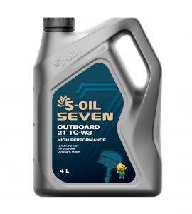 S-OIL 7 OUTBOARD 2T TC-W3