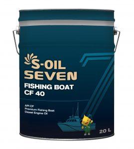 S-OIL 7 FISHING BOAT OIL CF 40